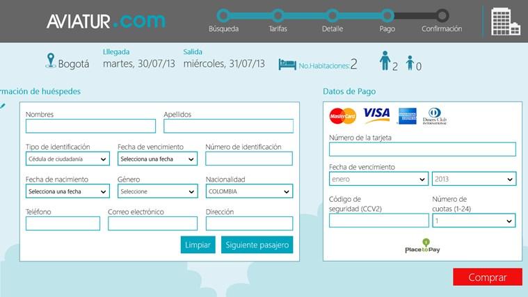Aviatur Mobile screen shot 6