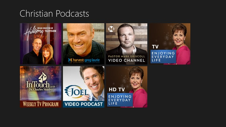 Christian Podcasts screen shot 0