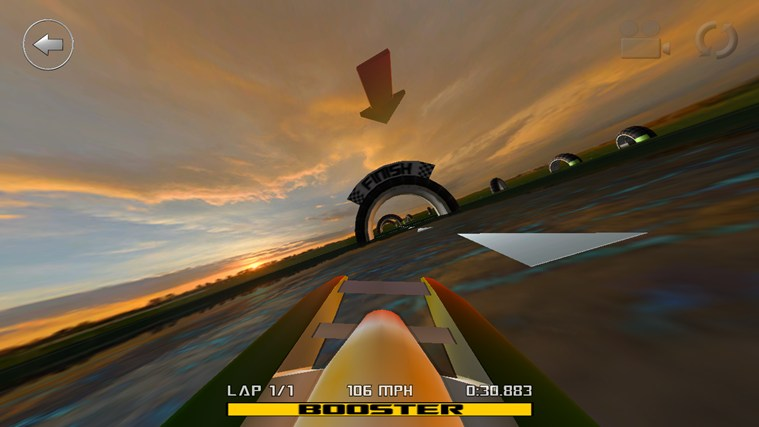 3D Boat Race Windows 8 Game