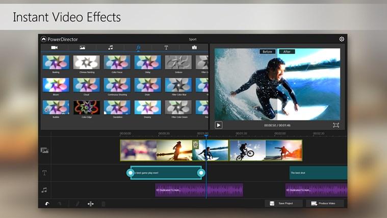 PowerDirector Mobile Video Editor – Bundled screen shot 4