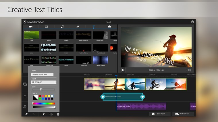 PowerDirector Mobile Video Editor – Bundled screen shot 6