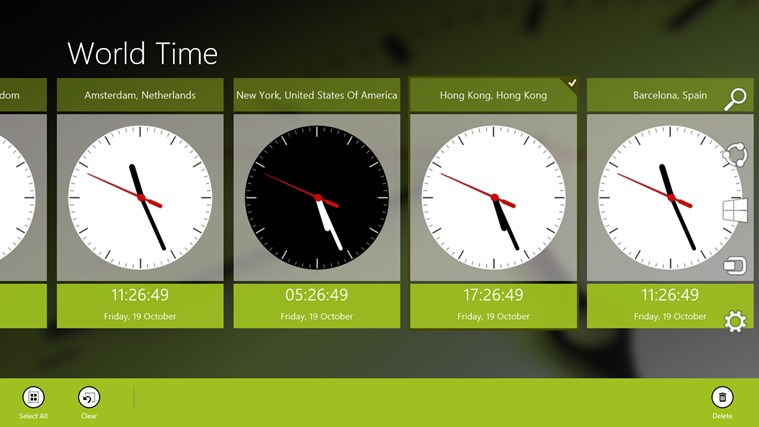 World Time screen shot 4