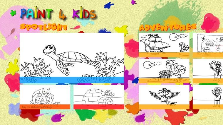 Paint 4 Kids screen shot 0