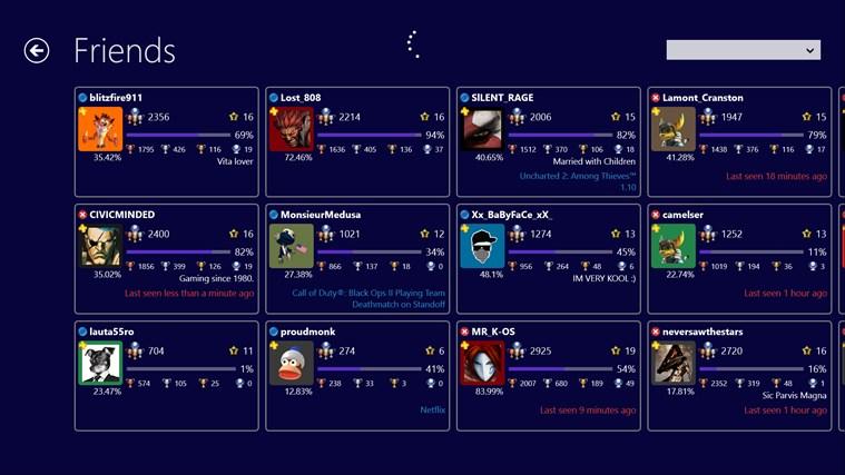PS3 Trophies screenshot 2