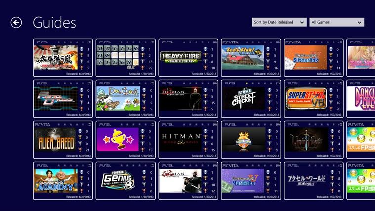 PS3 Trophies screenshot 4