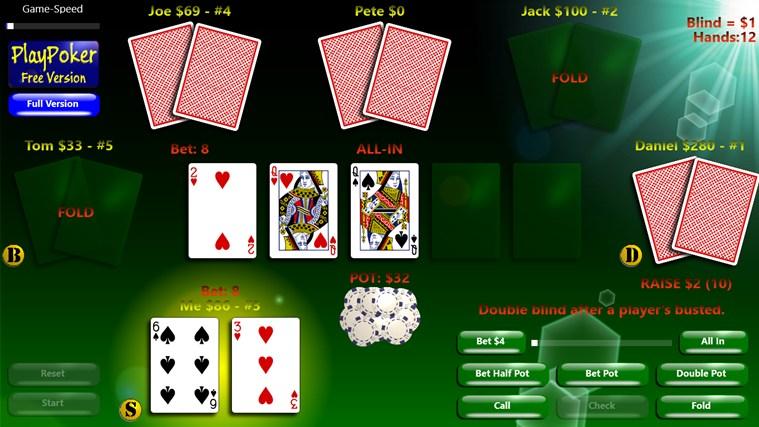 free texas holdem apps