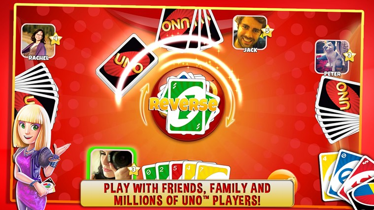 UNO ™ & Friends - The Classic Card Game Goes Social! screen shot 0