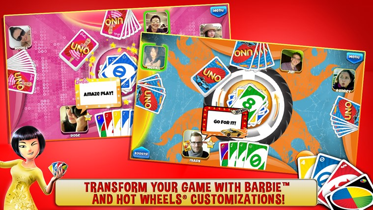 UNO ™ & Friends - The Classic Card Game Goes Social! screen shot 2