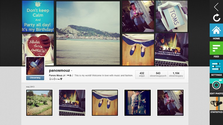 Instagram + Photo Editor screen shot 4
