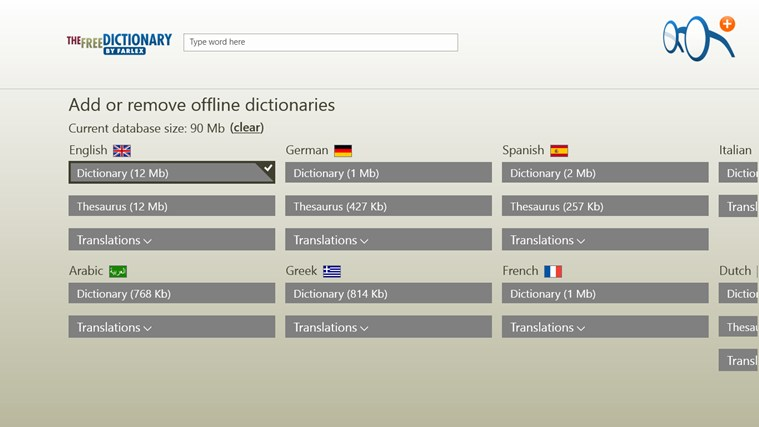 Dictionary Pro screen shot 0