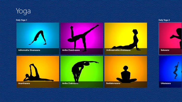 DAILY YOGA FOR YOUR HEALTH captura de pantalla 0