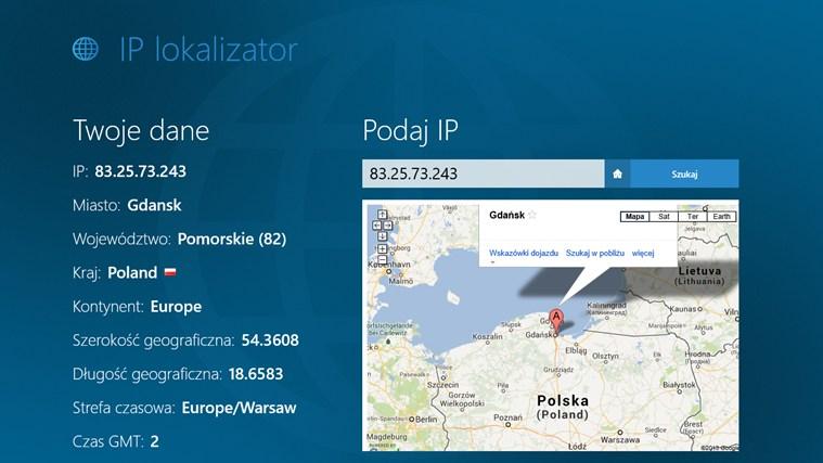 IP lokalizator screen shot 0