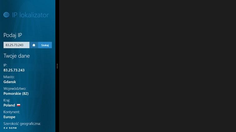 IP lokalizator screen shot 2