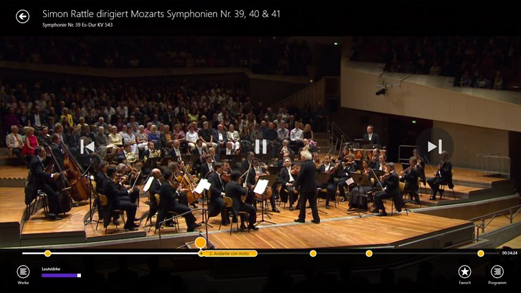 Digital Concert Hall Screenshot 2