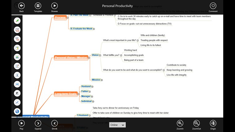 3A MindMap screen shot 4