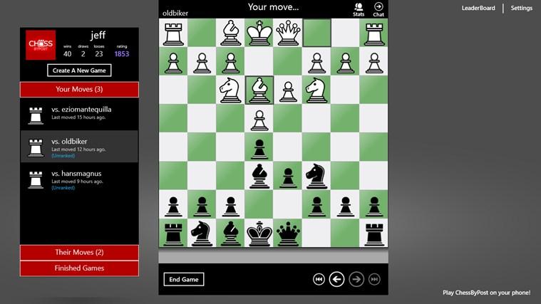 Chess By Post screenshot