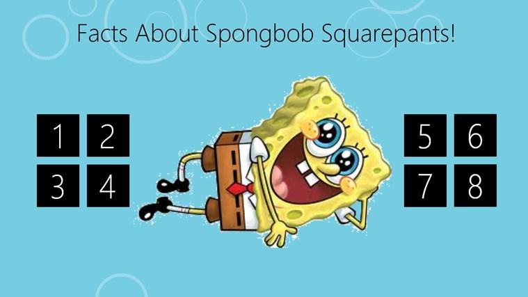 spongebob info