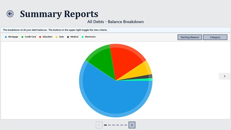 Debt Tracker screen shot 4