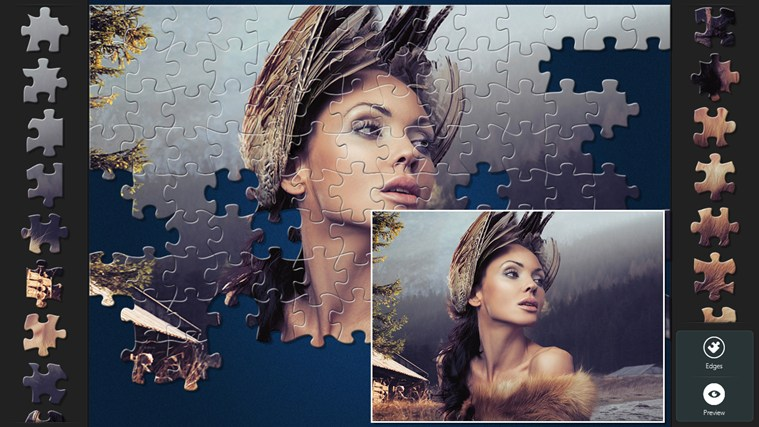 Magic Jigsaw Puzzles screen shot 6