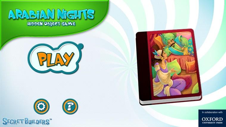 Arabian Nights - Hidden Object Game screen shot 0