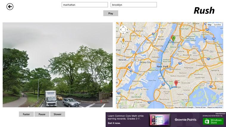 StreetView Rush screen shot 0