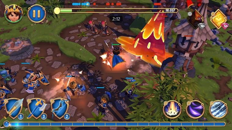 Royal Revolt 2 screen shot 4