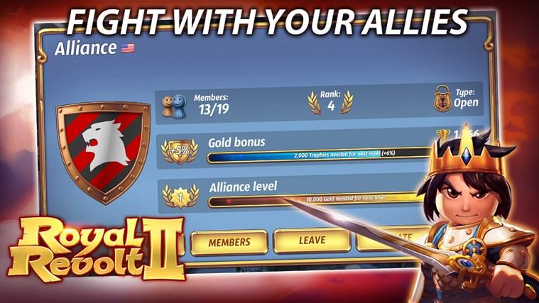 Royal Revolt 2 screen shot 6