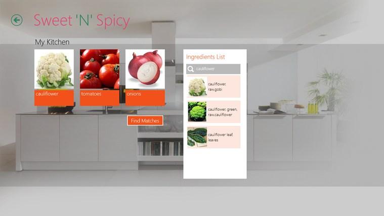 Sweet'N'Spicy schermafbeelding 2