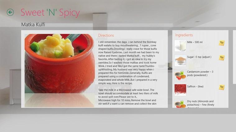 Sweet'N'Spicy schermafbeelding 4
