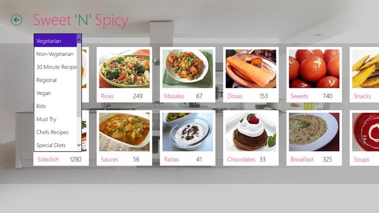 Sweet'N'Spicy schermafbeelding 6
