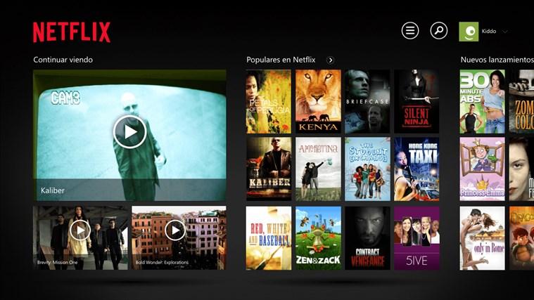 Netflix captura de pantalla 0