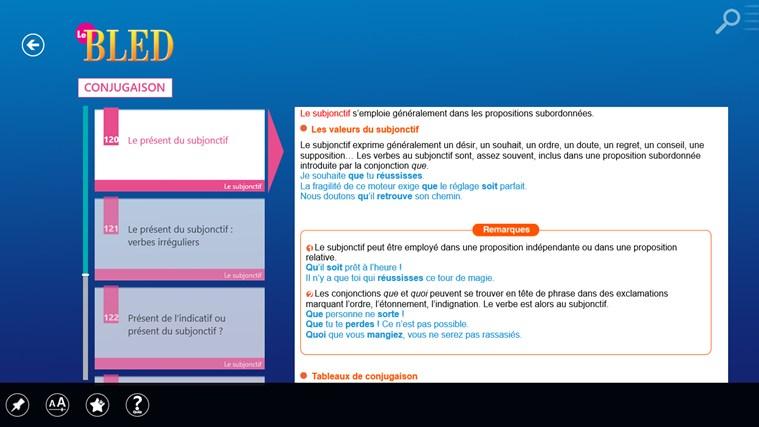 Le BLED Orthographe, Grammaire, Conjugaison screen shot 4