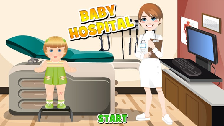Baby Hospital screen shot 0