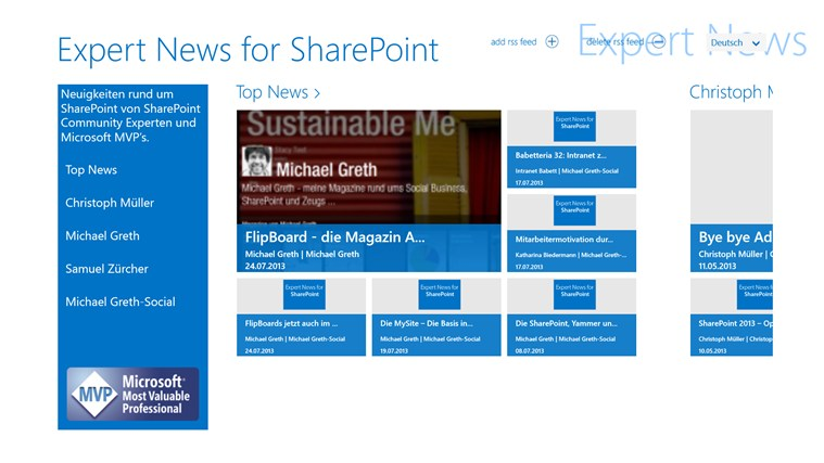 Expert News for SharePoint Screenshot 0