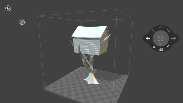 3D Builder screen shot 4