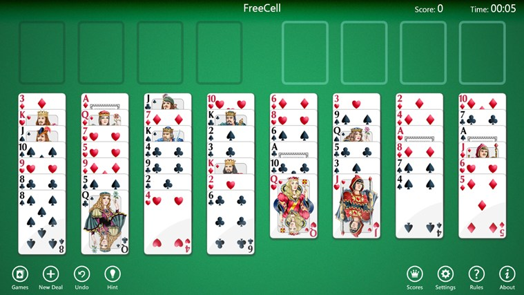 Download AE FreeCell Solitaire for Windows 10 - free