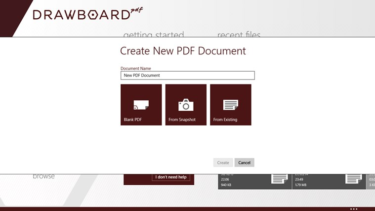 Drawboard PDF screen shot 6