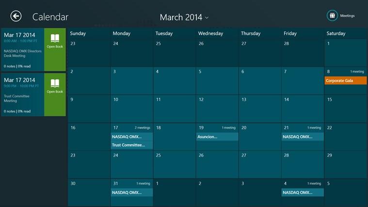 Directors Desk Windows 8 Edition screenshot 0