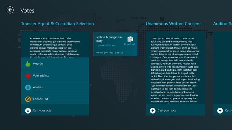 Directors Desk Windows 8 Edition screenshot 6