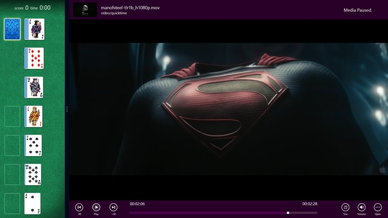 Metro Media Player screenshot 6