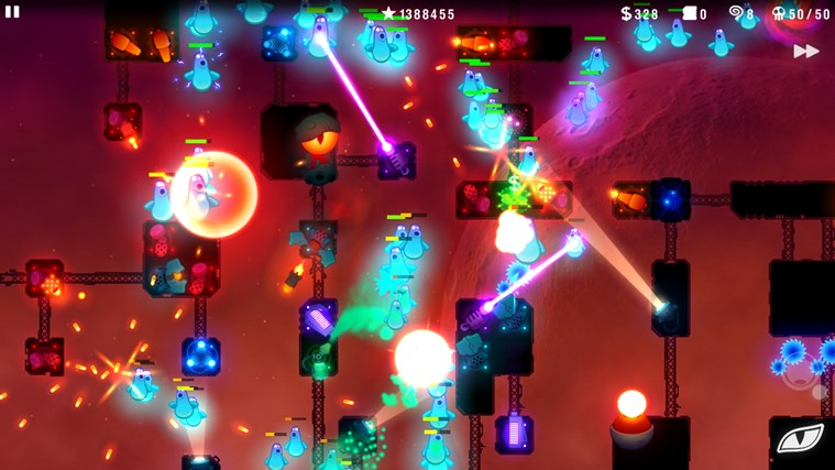 Radiant Defense screen shot 2