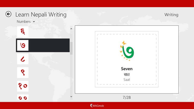 Learn Nepali Writing-simpleNeasyApp by WAGmob screen shot 6