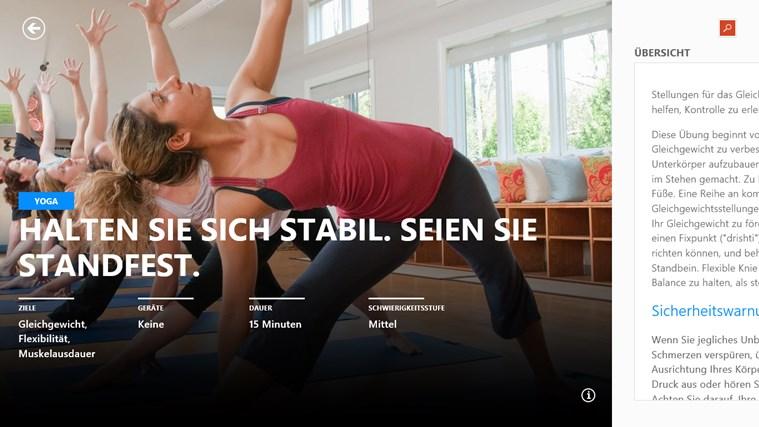 MSN Gesundheit & Fitness Screenshot 2