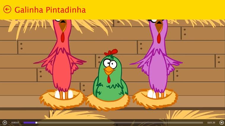 Turma da Galinha Pintadinha screen shot 6