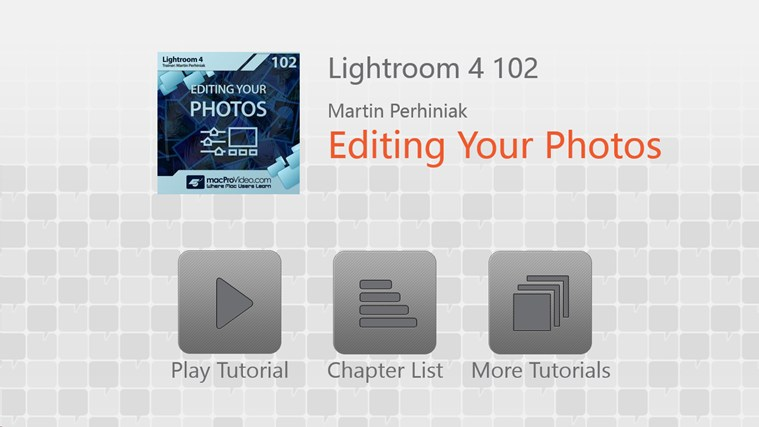 Lightroom 4: Editing Photos screenshot 0