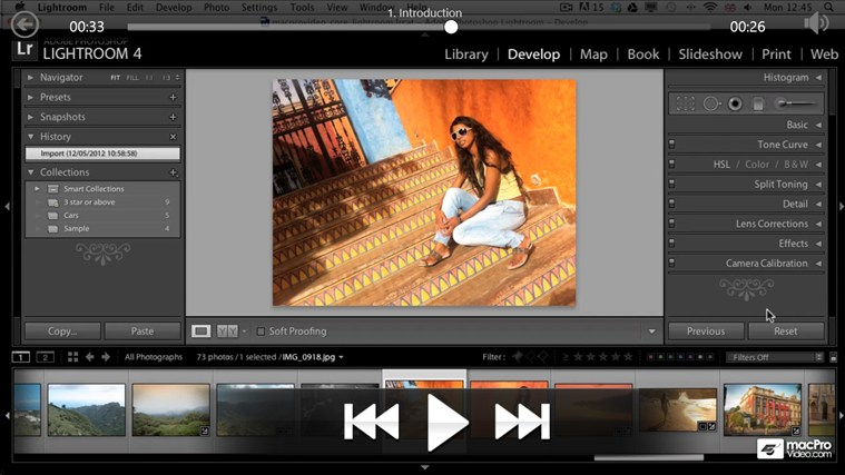 Lightroom 4: Editing Photos petikan skrin 2