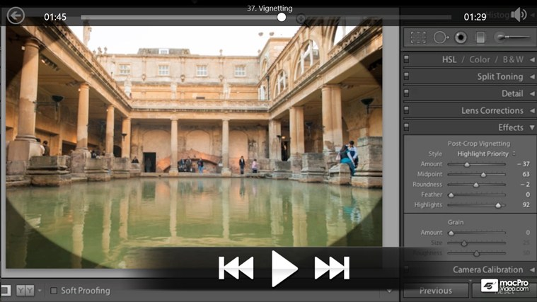 Lightroom 4: Editing Photos petikan skrin 4
