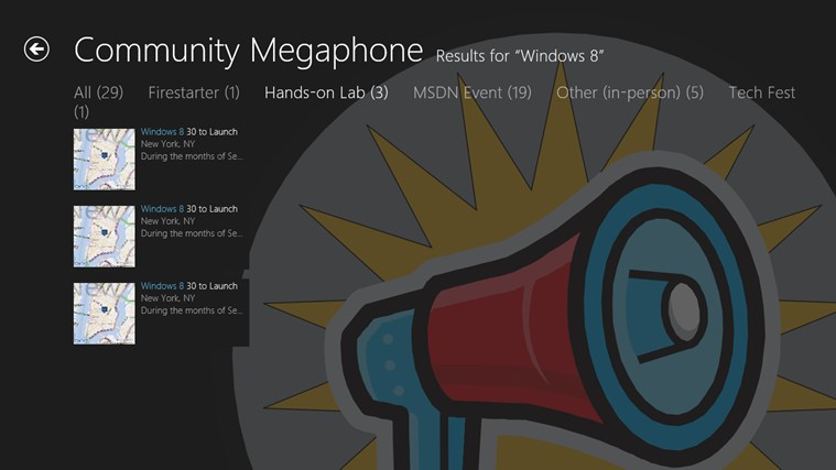 Community Megaphone screen shot 4