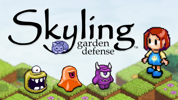 Skyling: Garden Defense screen shot 0