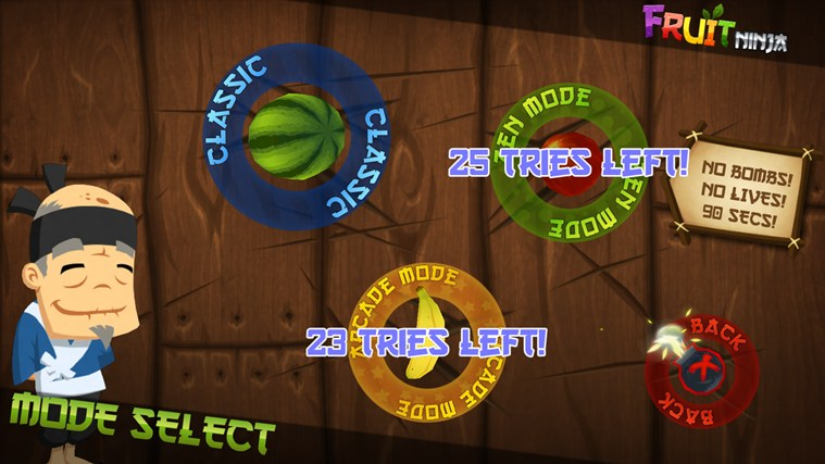 Fruit Ninja Windows 8 Game